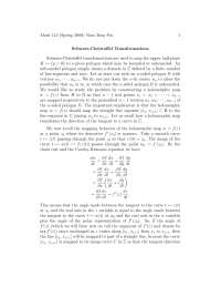 Schwarz Christoffel Transformation, Lecture Notes - Mathematics