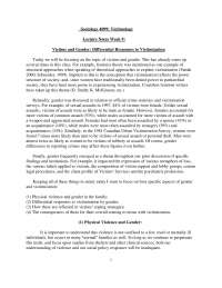 Victimology-Lecture Notes  9-Sociology