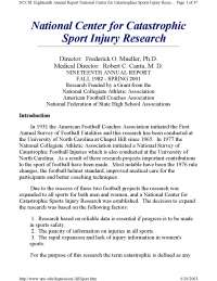 Sociology of Sport-Lecture Slides [injuries]-Sociology-Piliavin