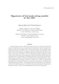 Signatures_of_low-scale_string_models_at_the_LHC
