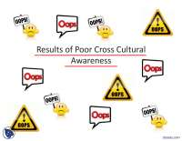 Results of Poor Cross Cultural Awareness-Introduction to Business Managment-Lecture Slides