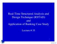 Application of Banking Case Study-Software Requirement-Lecture Slides