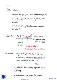 Euler Transformation-Classical Physics-Lecture Notes