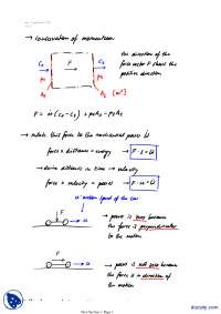 Conservation Of Momentum-Classical Physics-Lecture Notes