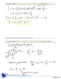 Conservation Of Mass-Classical Physics-Lecture Notes