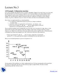 Example 2 Dimension Maxima - Design and Analysis - Study Notes