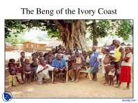 The Beng of the Ivory Coast - Social Organization - Lecture Slides