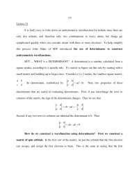Antisymmetric Wavefunctions - Physical Chemistry - Lecture Notes