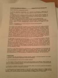 examen de sindical I
