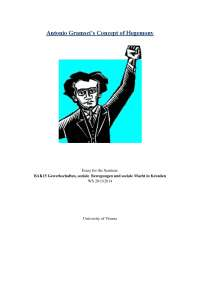 Gramsci and the meaning of hegemony