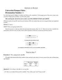 Test in lectures 3 solutions