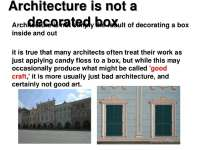 What is architecture 5 638