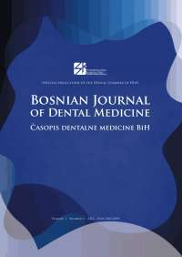Bosnian journal of dental medicine broj 1 final za web