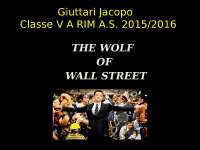 tesina the wolf of wall street