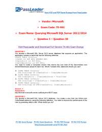 Querying MS SQL Server 2012/2014 pdf file