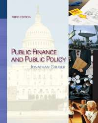 Public Finance and Public Policy 3rd Edition Jonathan Gruber
