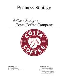 A case on costa coffee