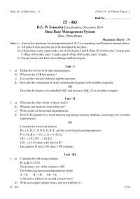 Question type paper pattern for the exam