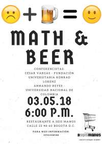 Math and Beer, un espacio para compartir