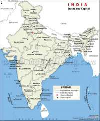 State and chapitals in India