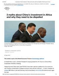 three myths propagated on china by other countries