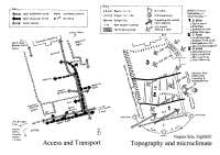 SIte analysis of a plane site with keys