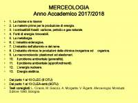 Slide merceologia 2017-2018