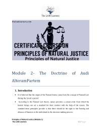lecture notes on jurisprudence